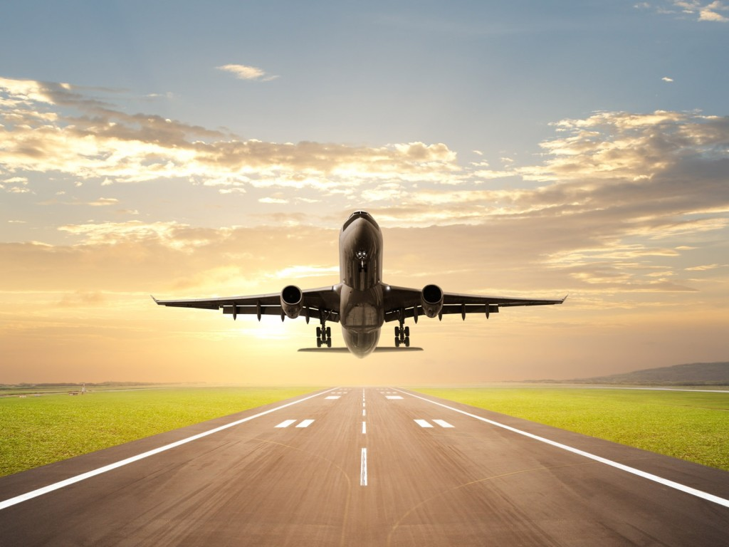 Takeoff-airplane-wallpaper