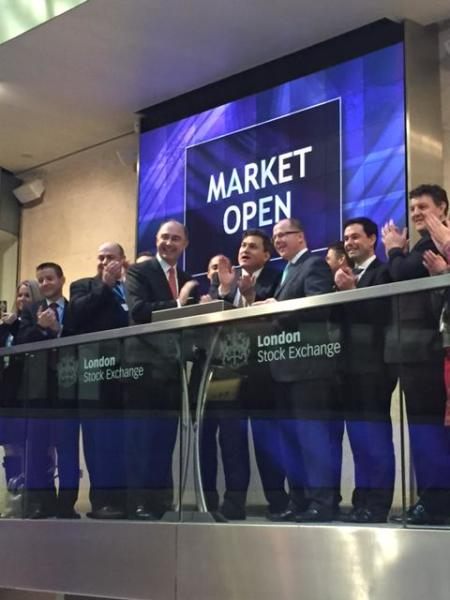 Opening the Stock Market with George Freeman MP, Minister for Life Sciences