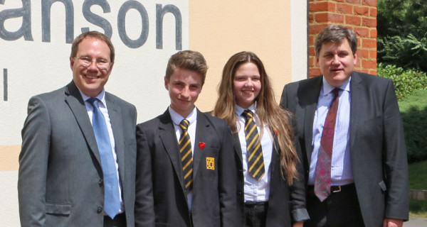 Visit to John Hanson Community School Andover