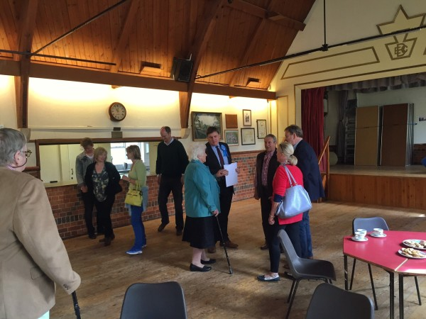 Burghclere - a busy meet & greet