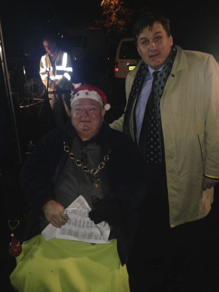 Tadley Christmas Lights Switch ON