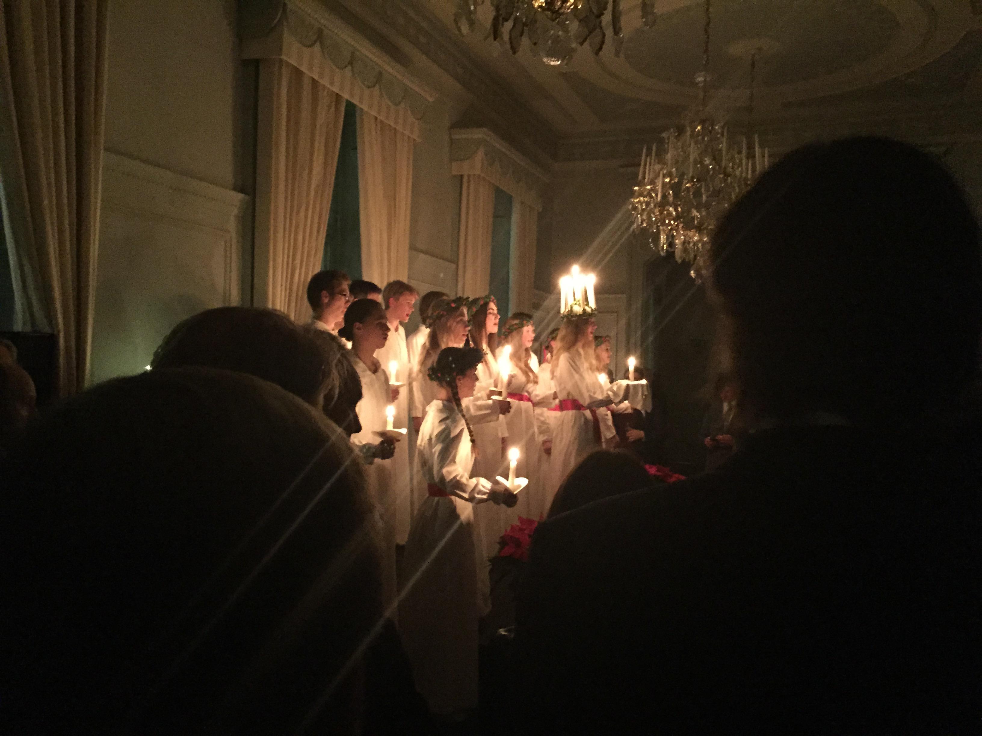Lucia Ceremony, Swedish Embassy