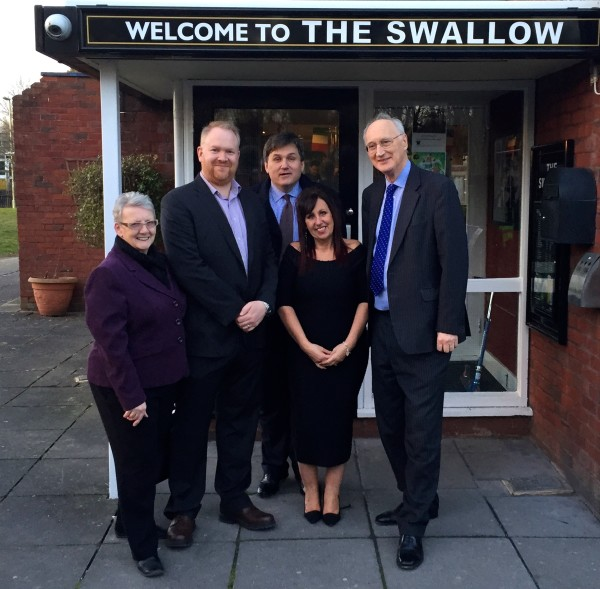 The refurbished Swallow in Andover