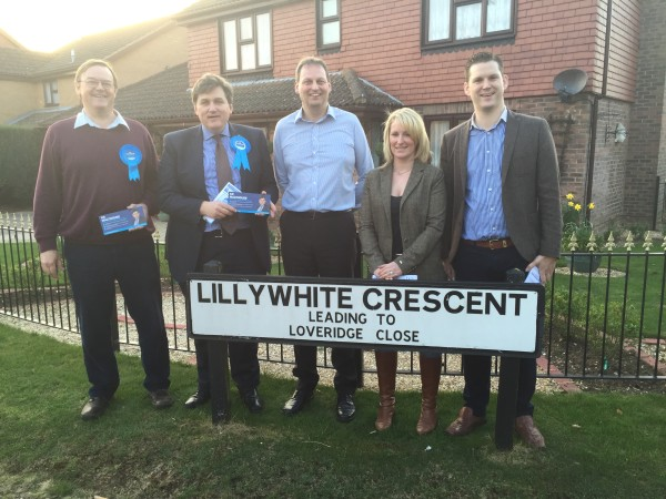 Alamein Army with Cllr Phil North Cllr Alex Broook and our new candidate Tracey Preston