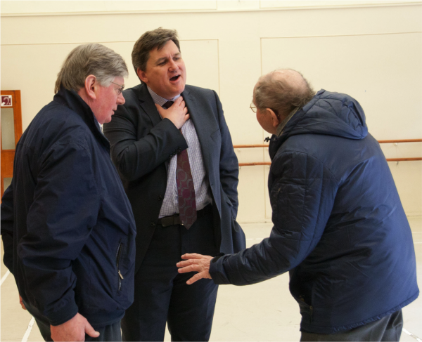 Meet & Greet in Kingsclere with Cllr Donald Sherlock