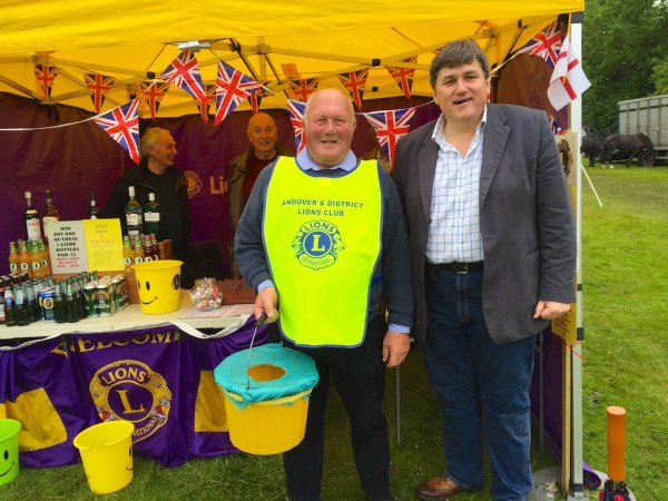Andover Lions at the Treacle Fair