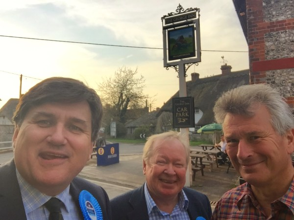 Canvassing in St Mary Bourne