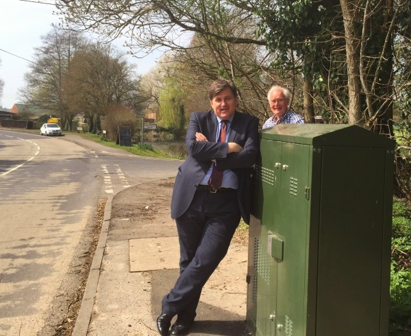 Penton Mewsey - superfast broadband at last!