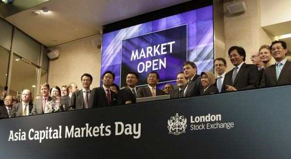 Opening the London Stock Exchange
